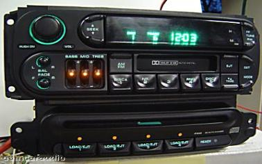 Chrysler Jeep Dodge Remote Slave 4 Disc Changer Cd Player