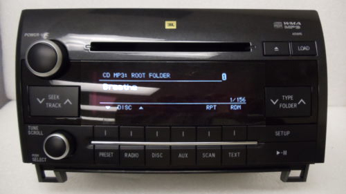 New Toyota Tundra Sequoia Jbl Radio Stereo 6 Disc Changer