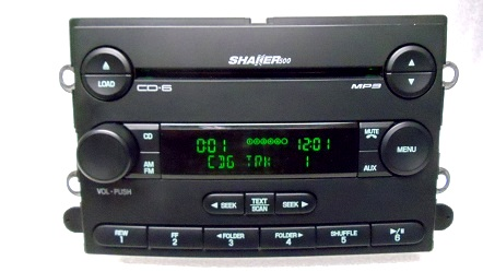 shaker 500 cd player wiring diagram 07 08 09 ford mustang shaker 500 radio 6 mp3 cd disc ... sony compact cd player wiring diagram
