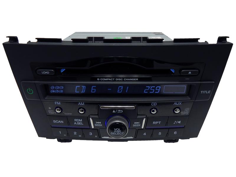 New Honda Cr V Crv Radio Stereo 6 Disc Changer Mp3 Cd