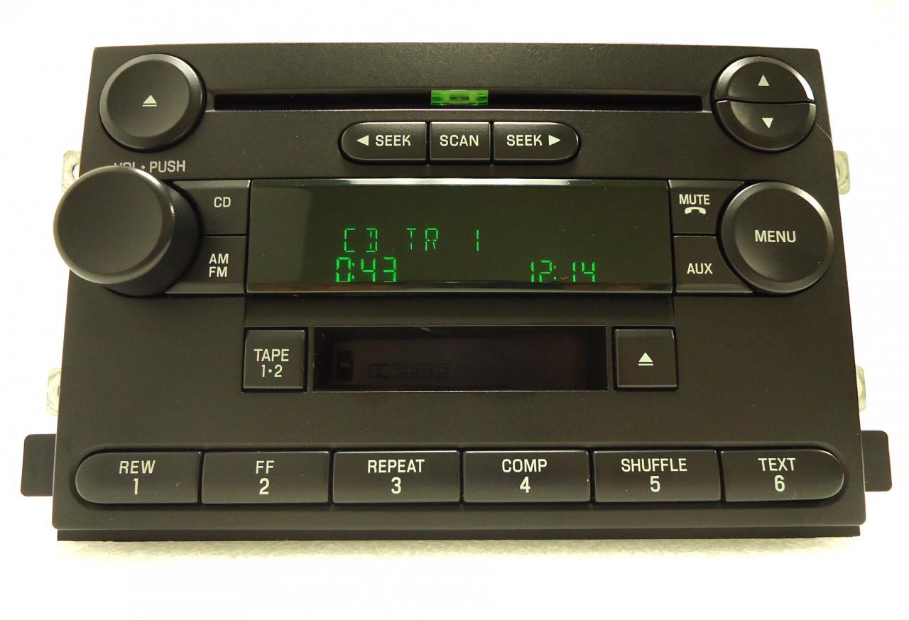 04 05 06 ford fusion f150 freestyle radio tape cassette cd. Black Bedroom Furniture Sets. Home Design Ideas