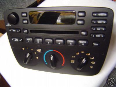 analog to digital climate control head unit taurus car Ford Stereo Wiring Diagrams Car Stereo Wiring Diagram