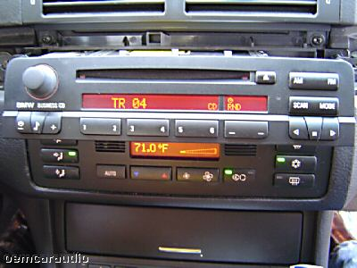 bmw radio stereo business cd player 3 series 325xi 325i. Black Bedroom Furniture Sets. Home Design Ideas