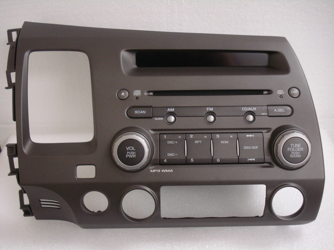 06 07 08 09 honda civic radio stereo mp3 cd player 4bc0. Black Bedroom Furniture Sets. Home Design Ideas