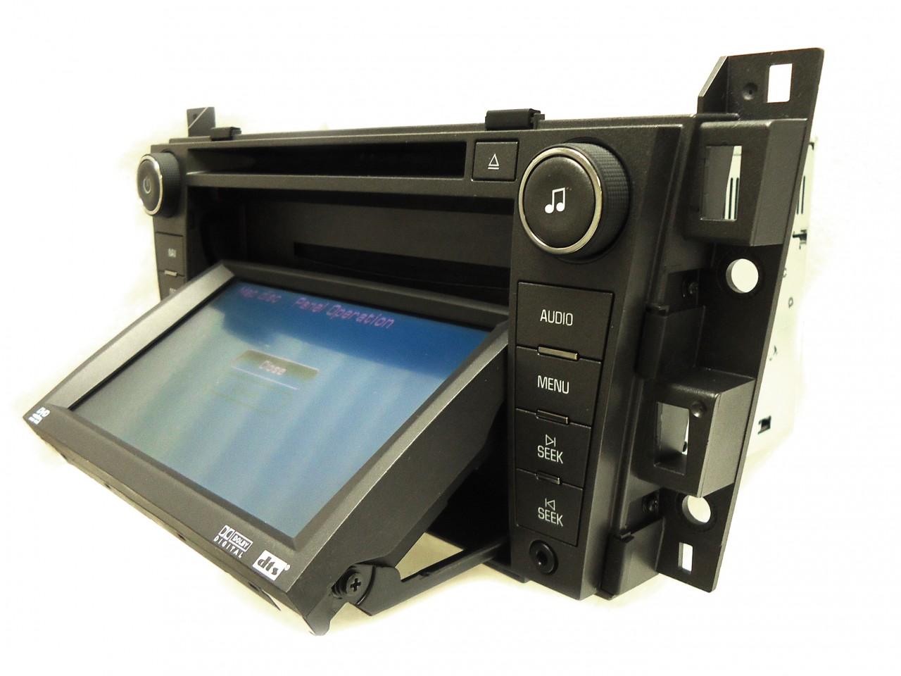 07 Cadillac DTS Bose GPS Navigation Nav Radio Stereo DVD CD Player