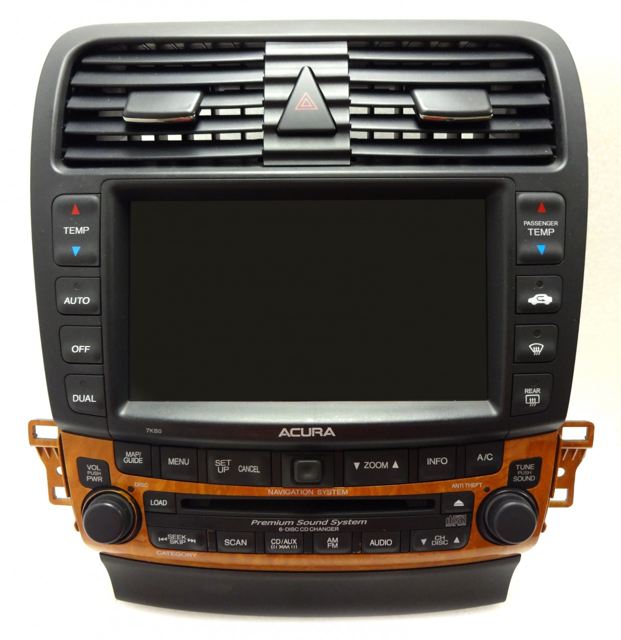 REPAIR 04 05 06 07 08 Acura TSX Navigation CD Disc Changer