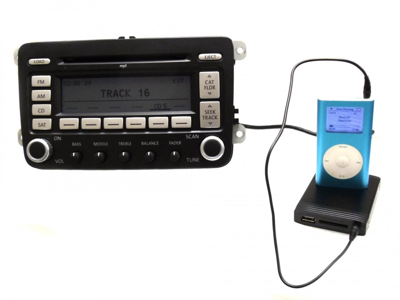 volkswagen vw jetta passat golf ipod auxiliary adapter harness mp usb interface ebay