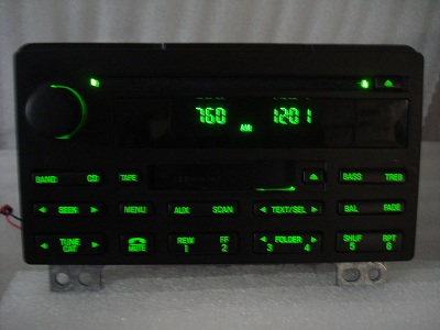 2003 2004 2005 2006 Ford Expedition Radio Tape CD Player 3L1T 18C868 AA