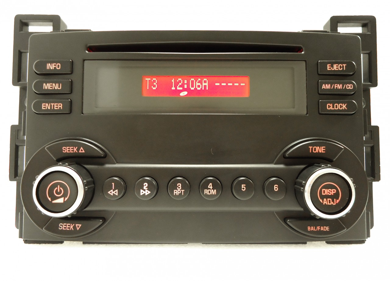 2005 2006 2007 pontiac g6 oem radio stereo single cd player u1c 15919055 ebay