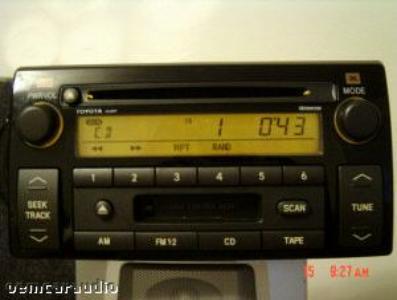 2002 2003 2004 toyota camry se radio tape cd player ad6807. Black Bedroom Furniture Sets. Home Design Ideas