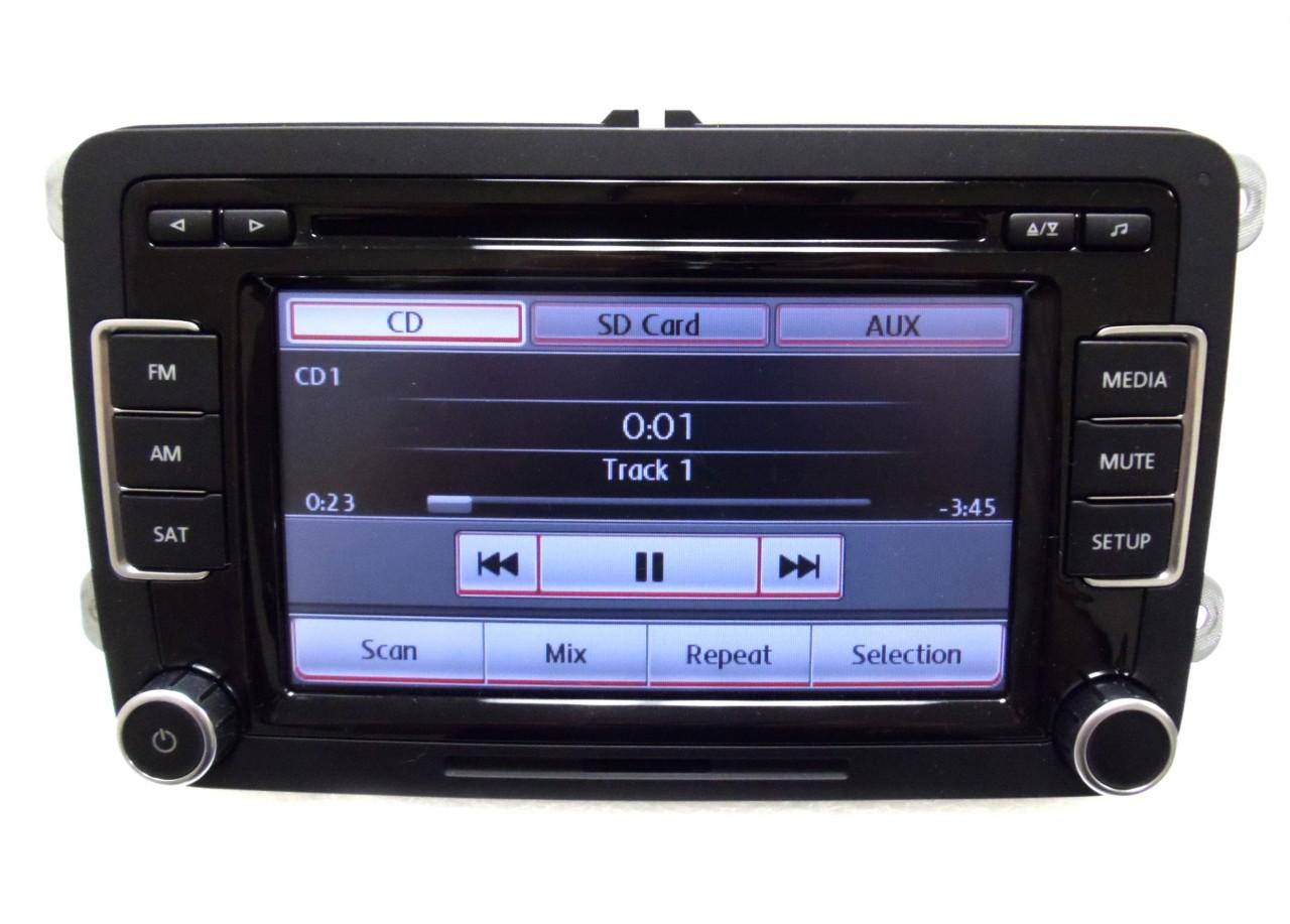 2010 2011 vw volkswagen jetta passat golf eos radio 6 disc. Black Bedroom Furniture Sets. Home Design Ideas