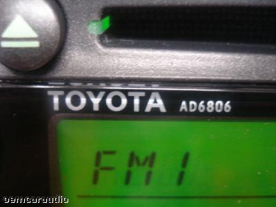 02 03 04 toyota camry jbl am fm radio tape cassette cd player ad6806 factory oem ebay. Black Bedroom Furniture Sets. Home Design Ideas