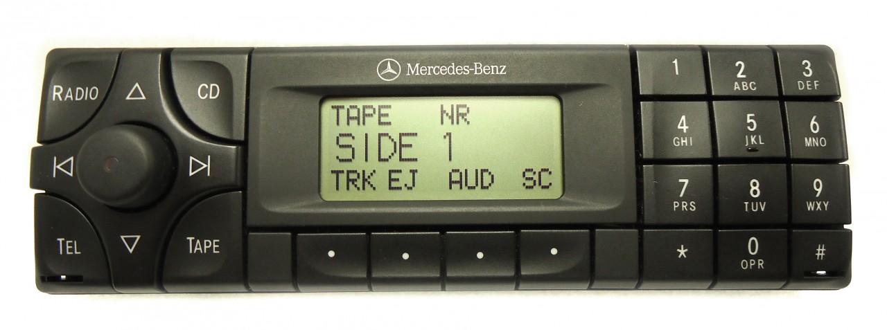 1998 mercedes slk230 radio code for Mercedes benz car stereo code