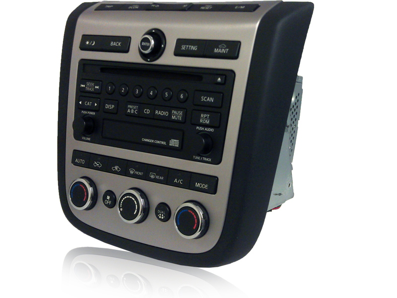 03 04 05 06 07 Nissan Murano Am Fm Radio Cd Player Factory