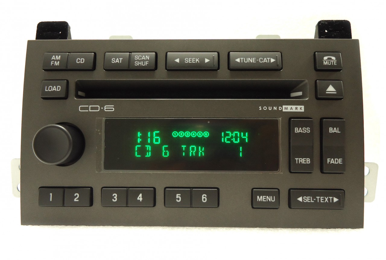 New 05 09 Lincoln Town Car Sound Mark Radio Stereo 6 Disc Changer Cd Player Oem Ebay