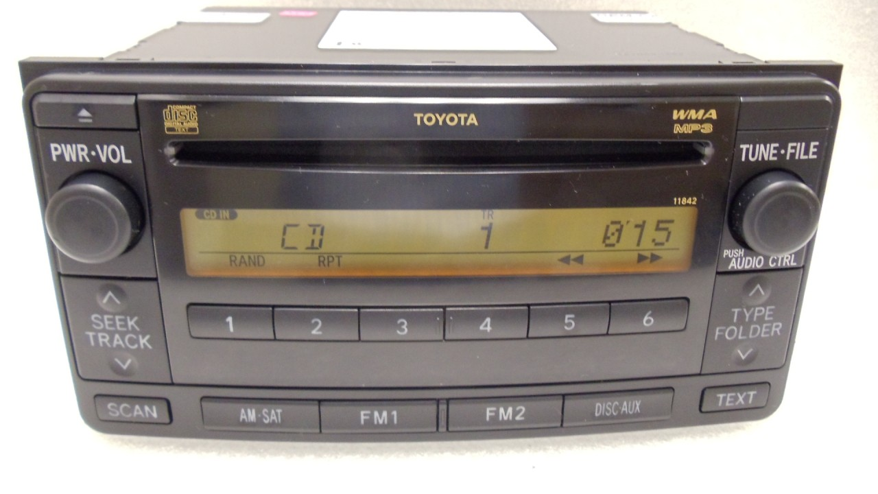 Toyota Cd Wma Mp3 Player Radio Fj Cruiser Rav4 4runner Celica 86120 35401 11829 I520189 likewise 181668299049 further Toyota Highlander Cad Block moreover Jbl Radio For 2014 Ta a together with Lotprod. on toyota highlander satellite radios