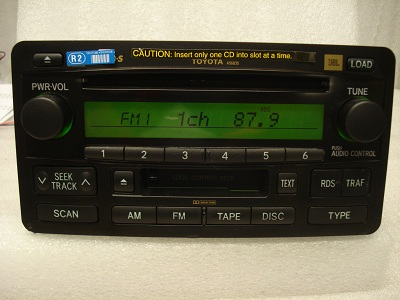 2003 2004 toyota tundra sequoia radio 6 cd changer disc. Black Bedroom Furniture Sets. Home Design Ideas