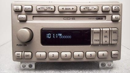 new 03 04 05 06 lincoln soundmark navigator radio 6 disc. Black Bedroom Furniture Sets. Home Design Ideas