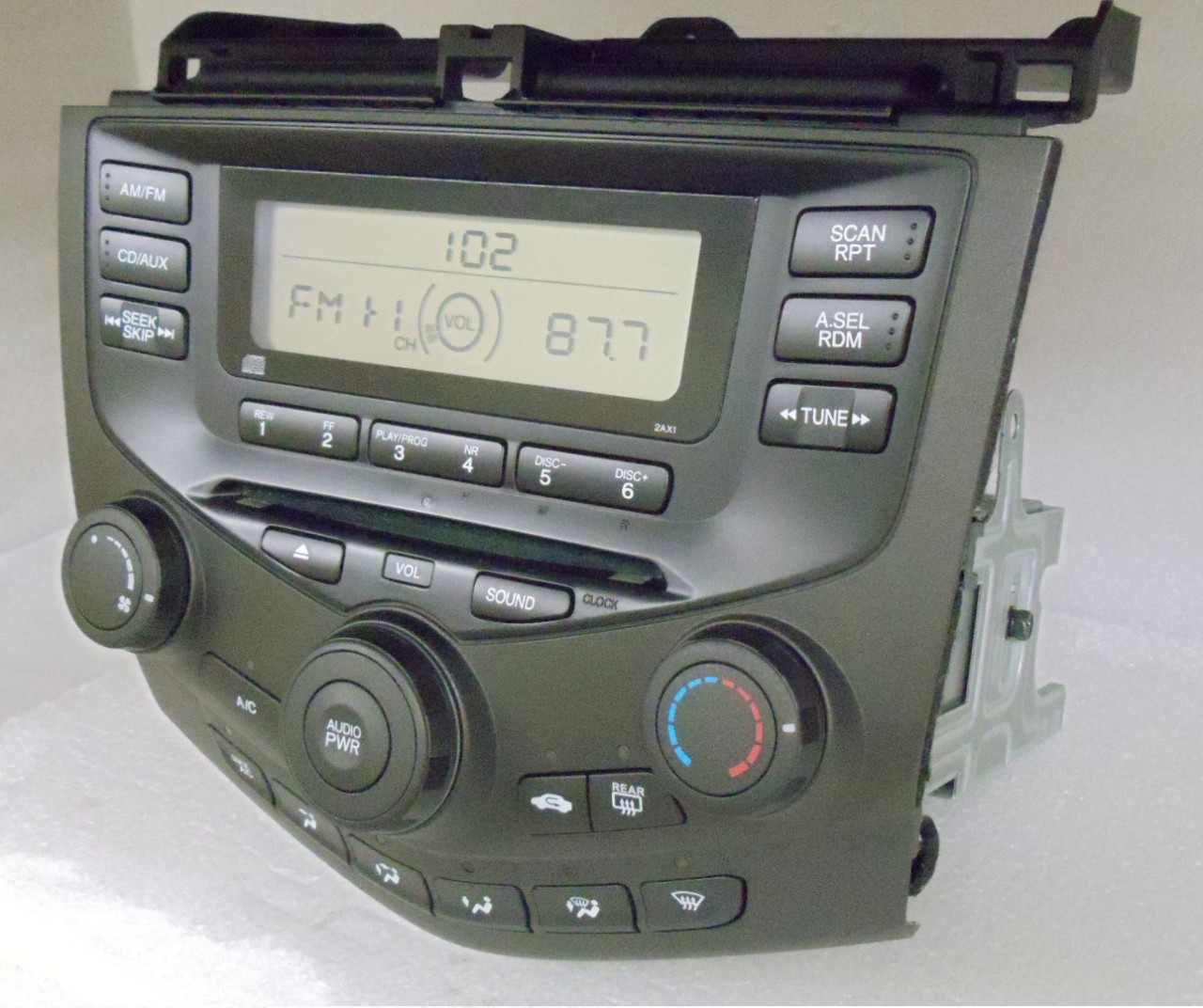 2003 2004 2005 honda accord radio cd player aux 2aa0 ebay