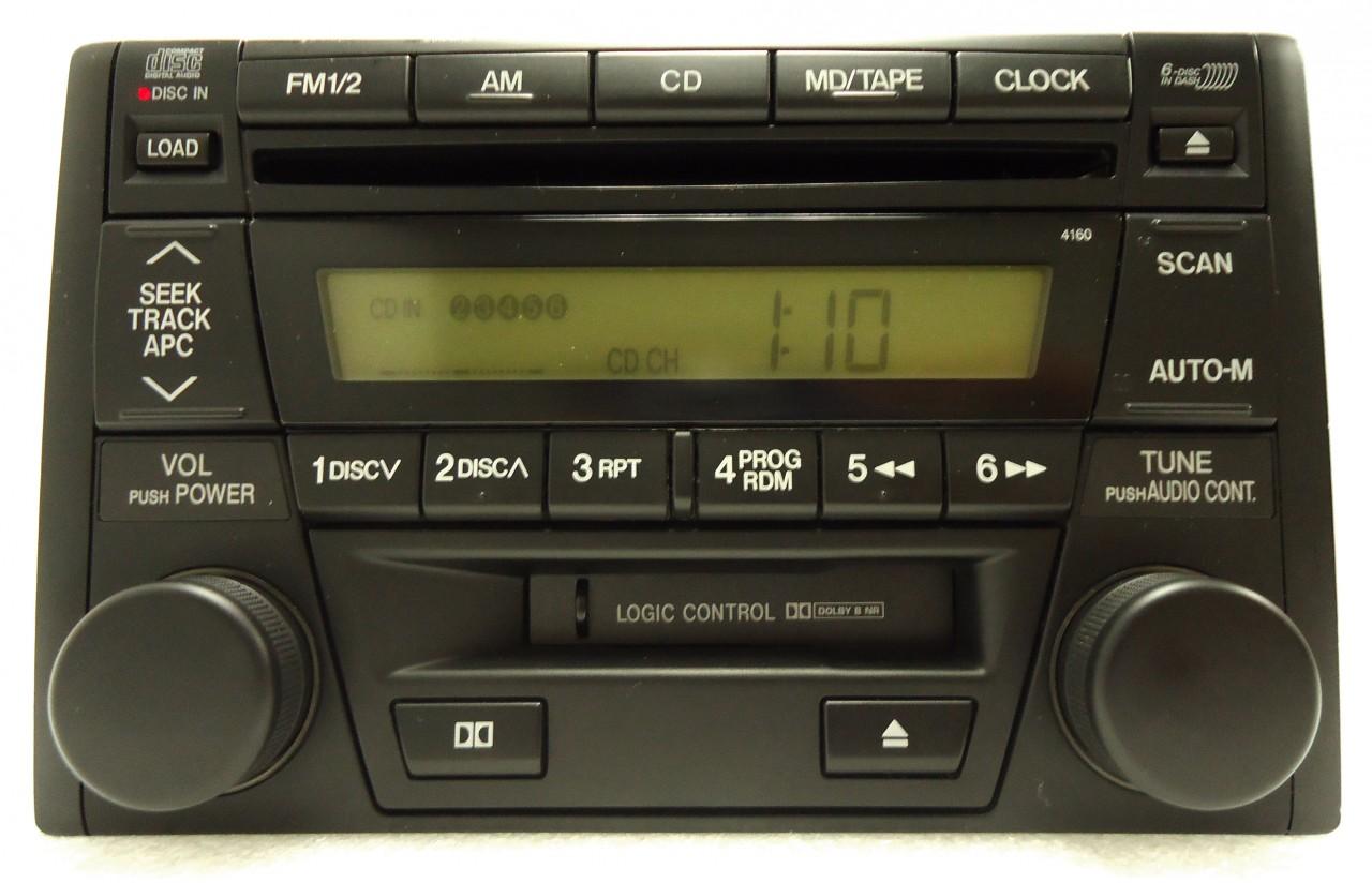 mazda protege miata tribute 626 radio stereo 6 disc. Black Bedroom Furniture Sets. Home Design Ideas