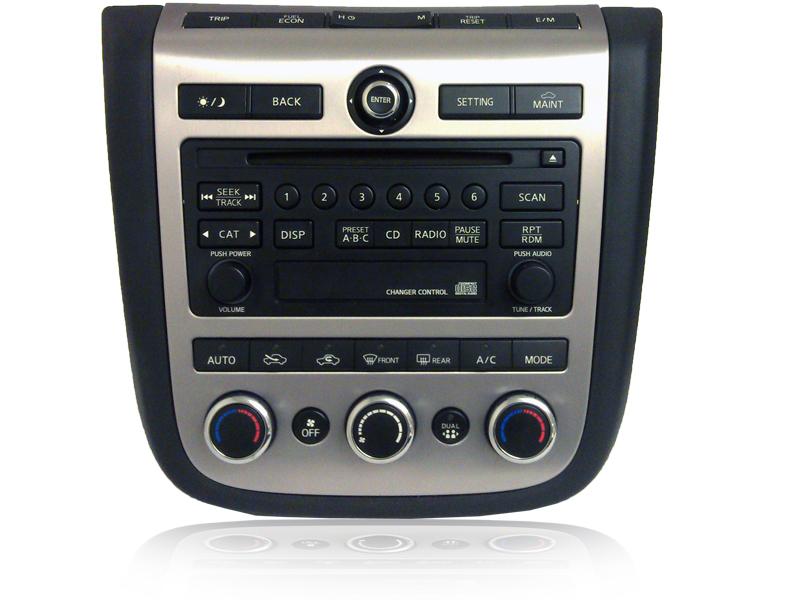 03 04 05 06 07 Nissan Murano Am Fm Radio Cd Player Factory