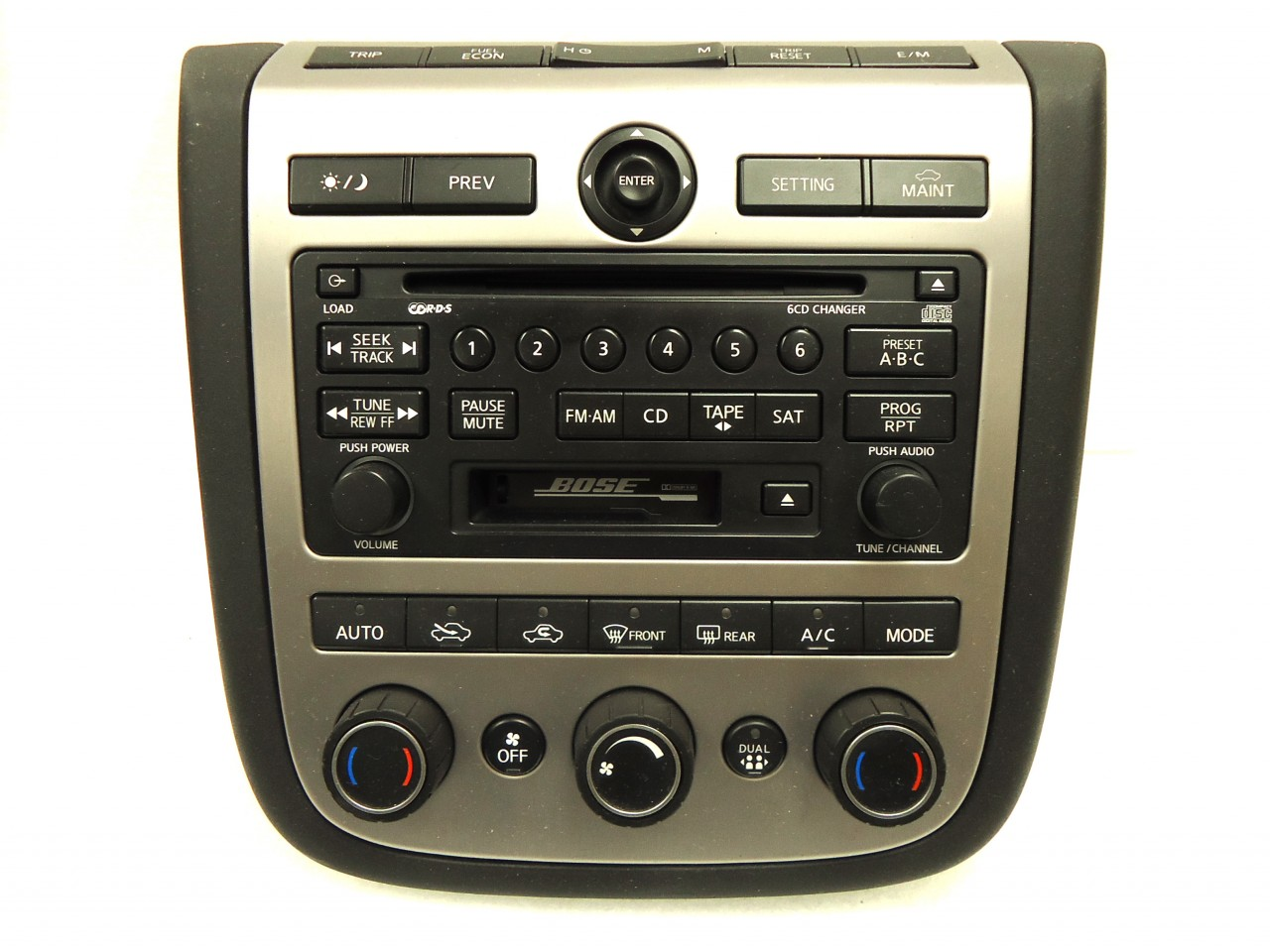 bose car stereo nissan murano. Black Bedroom Furniture Sets. Home Design Ideas