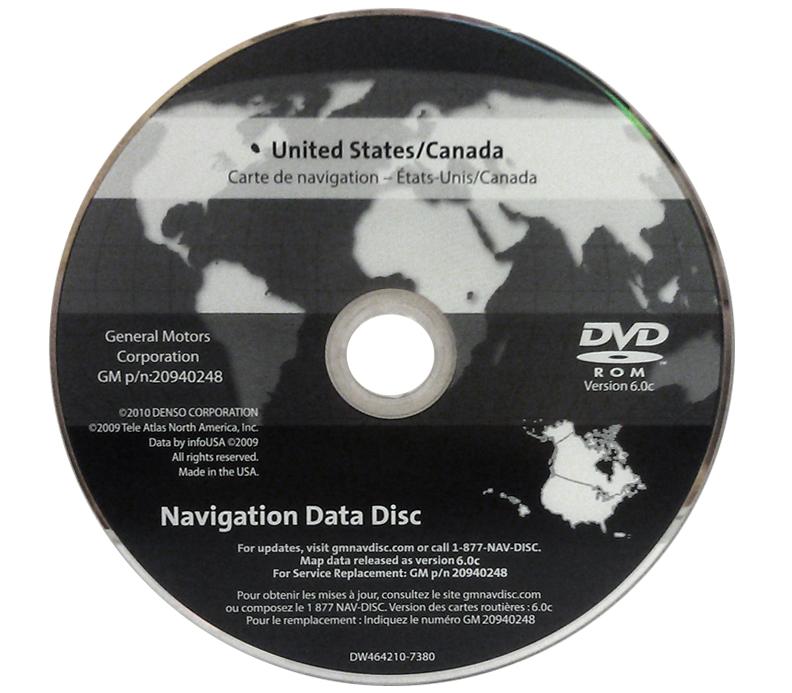 chevrolet tahoe ltz lt gps navigation dvd 6 0 2007 2008. Black Bedroom Furniture Sets. Home Design Ideas
