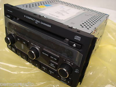 06 07 08 HONDA Pilot Radio Stereo 6 Disc Changer CD Player ...
