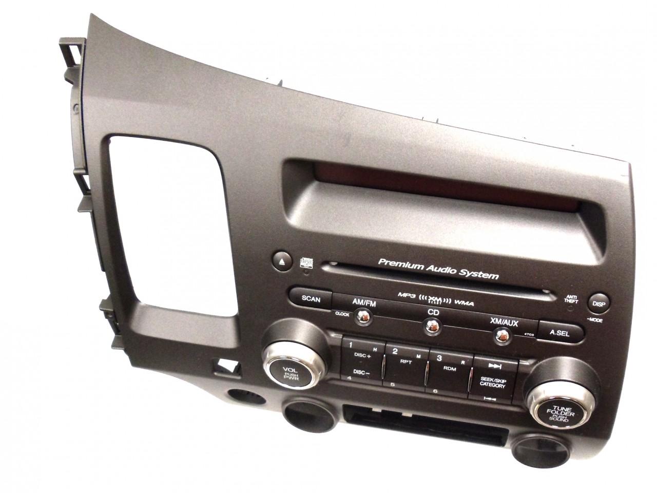 06 07 08 honda civic premium audio system radio stereo mp3. Black Bedroom Furniture Sets. Home Design Ideas