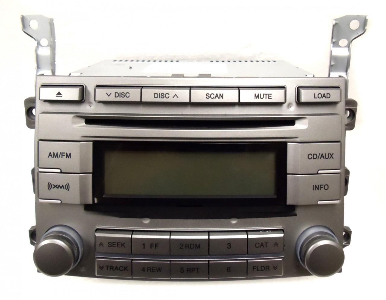 HYUNDAI Veracruz XM Satellite Radio Stereo 6 Disc Changer ...