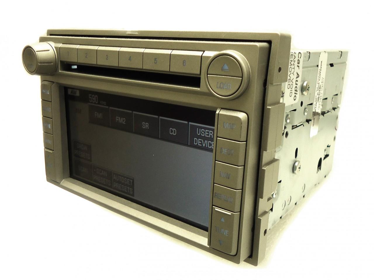 lincoln navigator mkx mkz navigation system gps radio 6 cd. Black Bedroom Furniture Sets. Home Design Ideas