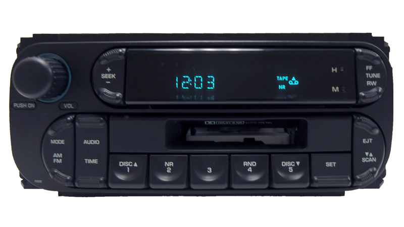 02 03 04 05 Chrysler Dodge Jeep RAM Intrepid Radio Stereo Tape Player