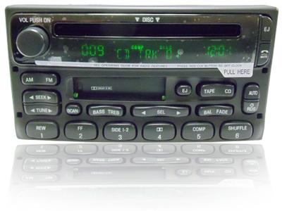 NEW Mercury Mountaineer Ford Explorer Radio CD Player RDS Mach Sound