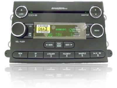 Ford Mustang Sirius Satellite Radio 6 Disc  CD Changer Player Shaker 1000