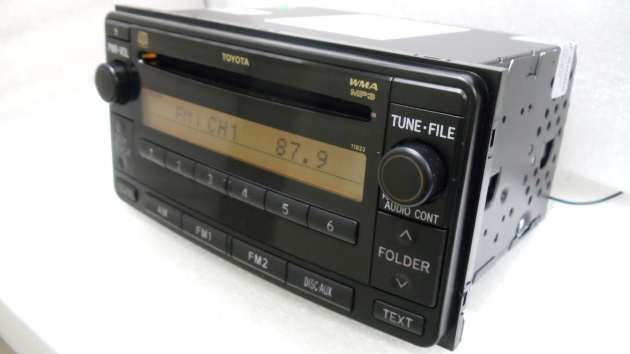 08 09 Toyota 4 Runner Rav4 Radio Car Stereo Mp3 Cd Player Aux 11823 1992 Mr2 Wiring Diagram 86120 35410 8612035410