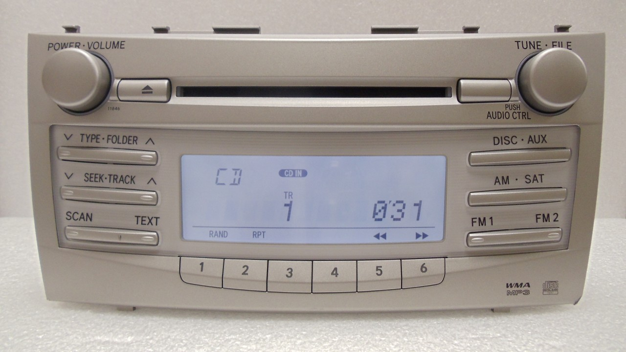 To11846_1__22258_zoom 07 08 09 10 11 toyota camry am fm radio stereo mp3 cd player 11846  at soozxer.org