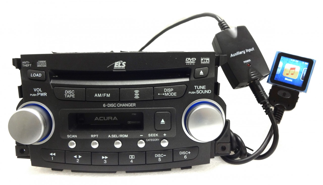 NEW HONDA Accord ACURA IPod IPhone Adapter AUX Auxiliary For Radio - Acura tl 2004 aux input