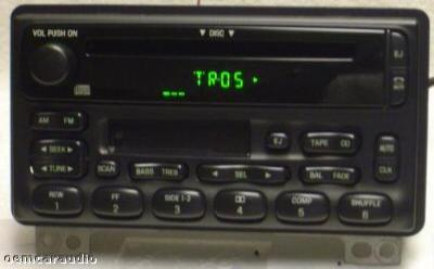 Ford Explorer Mustang Mercury Mountaineer Radio CD Player 2001 2002
