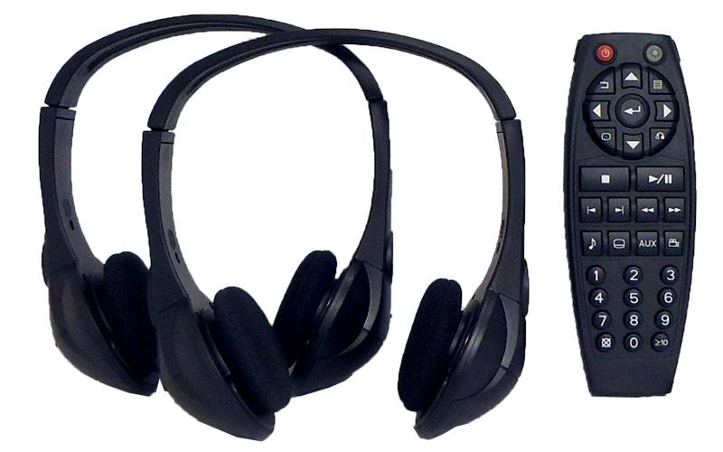 2005-2019 GM Chevy REAR ENTERTAINMENT HEADSETS HEADPHONES ...