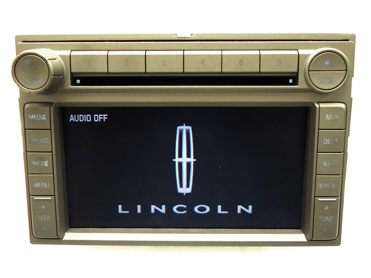 Details About 2006 2009 Lincoln Oem Navigation Gps Radio Stereo 6 Disc Changer Cd Player