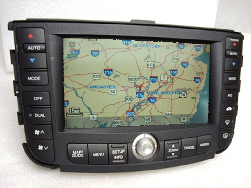 ACURA TL Navigation GPS System LCD Display Touch Screen - Acura navigation