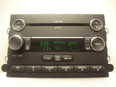 Ford Edge Lincoln MKX Radio 6 CD Disc Changer  w O Nav 2008 2009