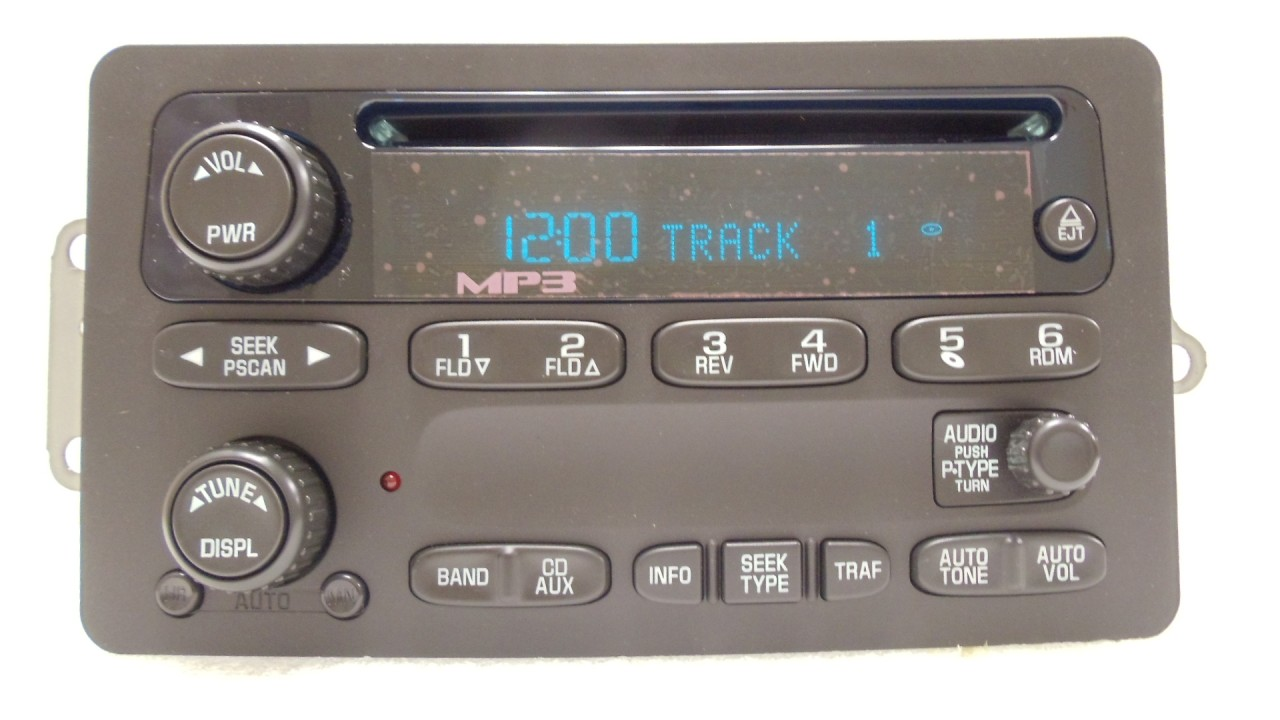 Repair Your Gm Radio Chevy Gmc Silverado Avalanche Sierra Cd