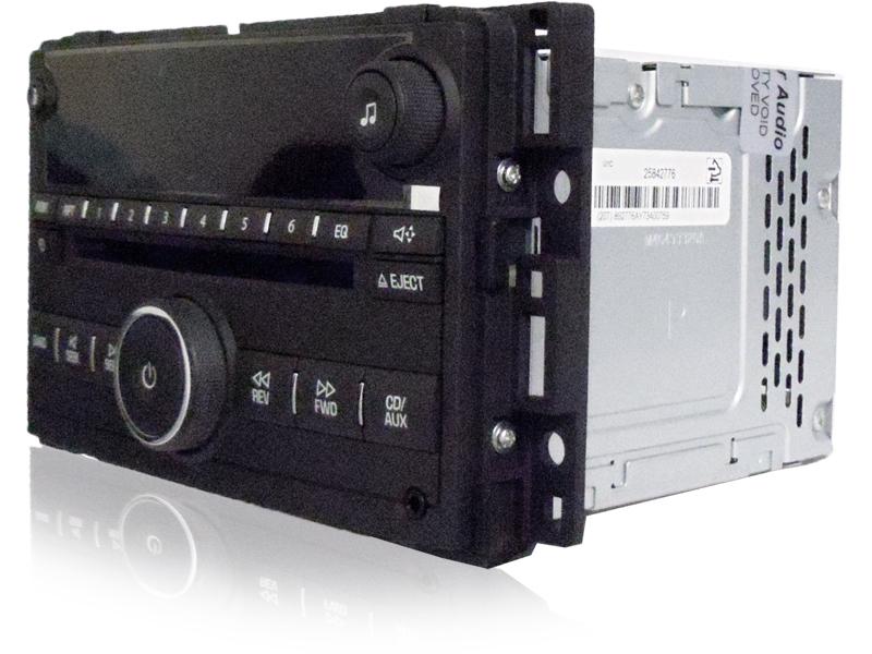 08 2008 09 Chevrolet Chevy Malibu Radio MP 3  Aux CD Disc Changer Player
