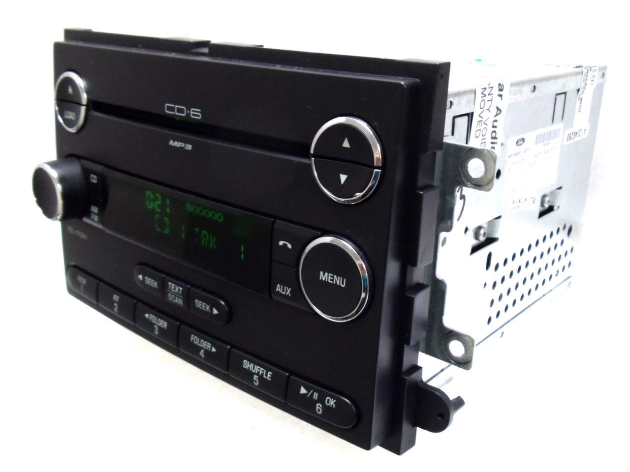 06 07 08 09 Ford FUSION F-150 Mercury MILAN Radio AUX MP3 MP 3 6 Disc CD Changer
