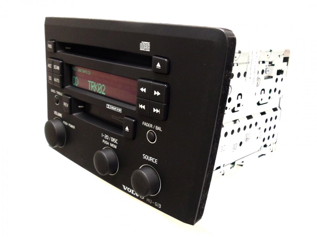 2004 Volvo S60 V70 XC70 HU-613 Radio AM//FM CD Player Head Unit 36050163