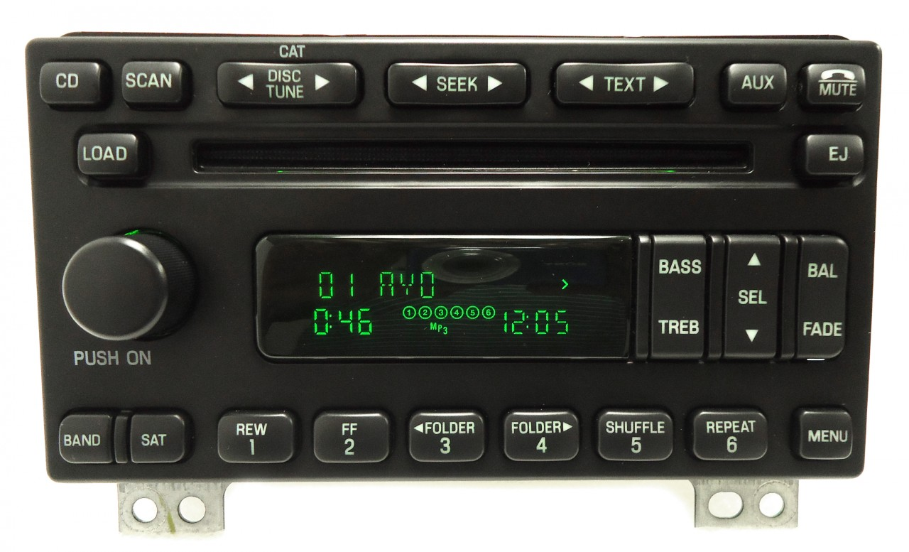 Ford Expedition Mustang Explorer 6 Disc Changer  CD Player Radio