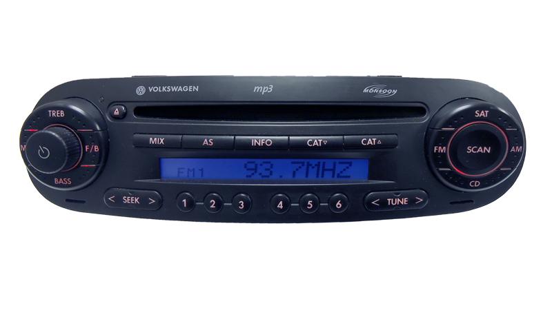 Volkswagen Vw Beetle Oem Sat Radio Monsoon Mp3 Cd Player