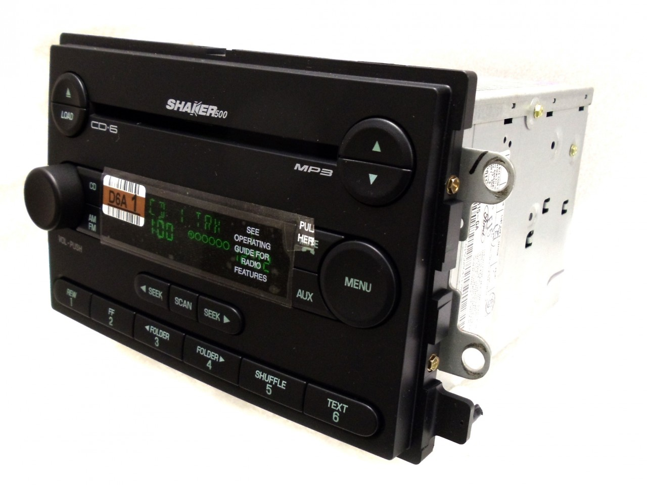05 06 Ford Mustang Shaker 500 Radio Stereo 6  CD Disc Changer Player