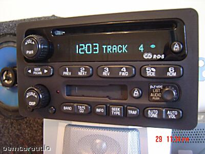 gm chevy radio receiver am fm stereo cd player tape 1976 chevy suburban wiring diagram